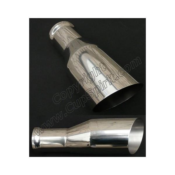 Sortie inox polie 114mm x 102mm