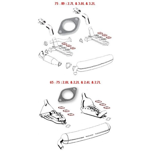 Joint échangeur / culasse