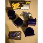 4 silentblocs de barre stab. Av 24mm