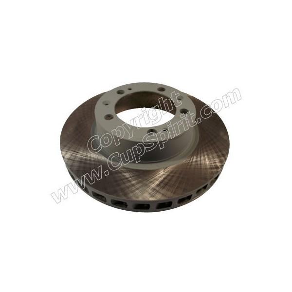 Disque Avant gauche - Bol peint gris anti-corrosion