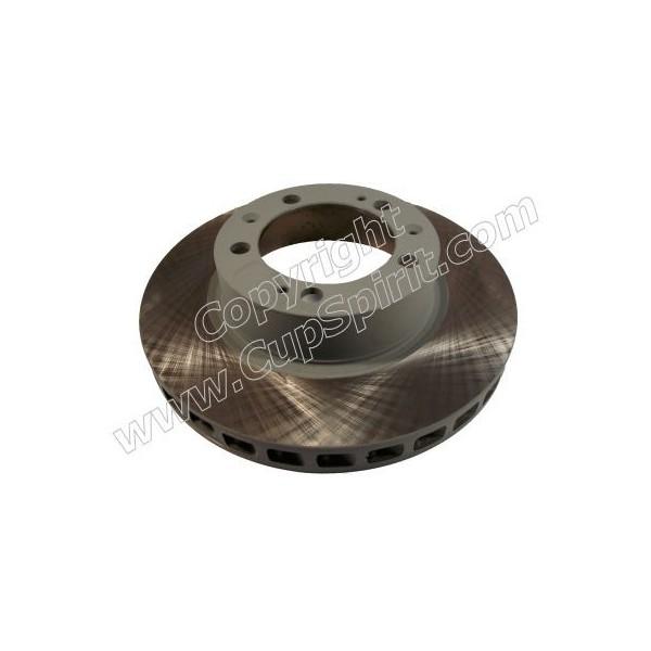 Disque Avant droit - Bol peint gris anti-corrosion