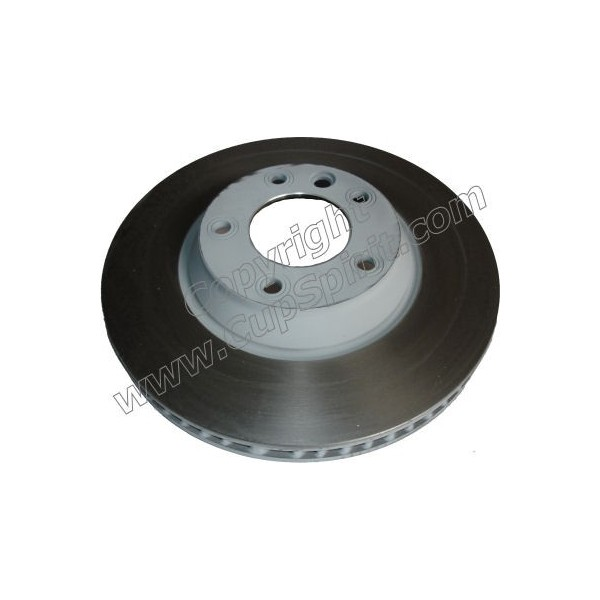 Disque Avant Droit 350mm - Bol peint gris anti-corrosion