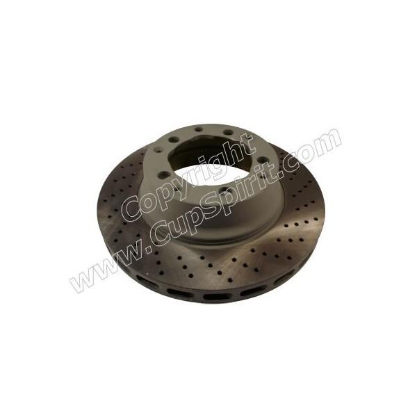 Disque Arrière - Bol peint gris anti-corrosion