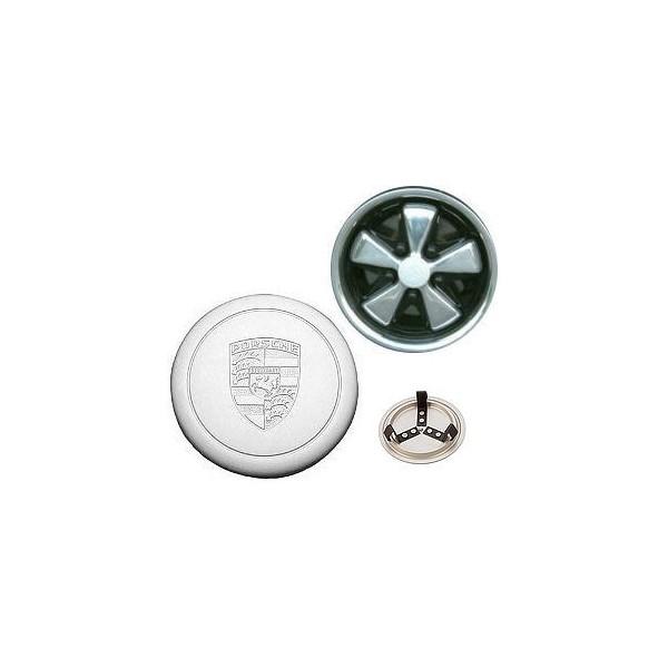 Enjoliveur de roue argent Fuchs pré 74