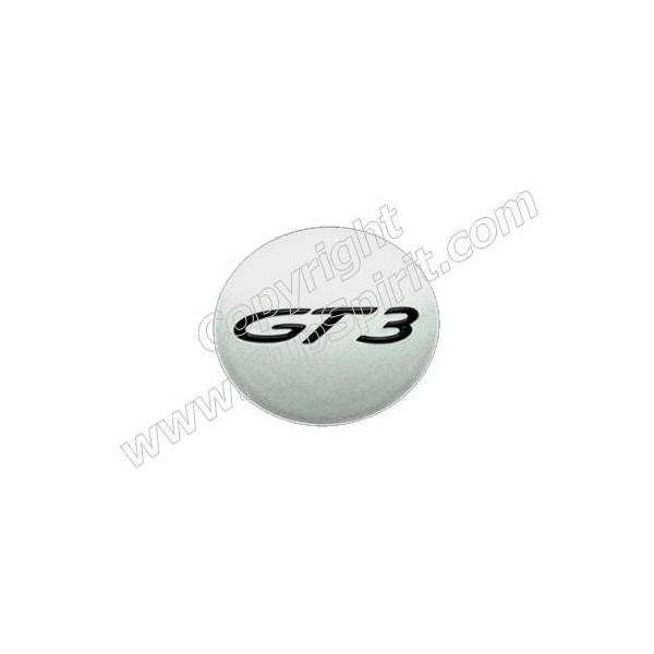 Centre de roue GT3 gris argent