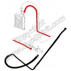 Conduite huile radiateur vers thermostat (retour)