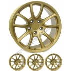 Pack 4 jantes style GT3 RS 19 pouces (AV:8.5 ET53 AR:11 ET51) GOLD