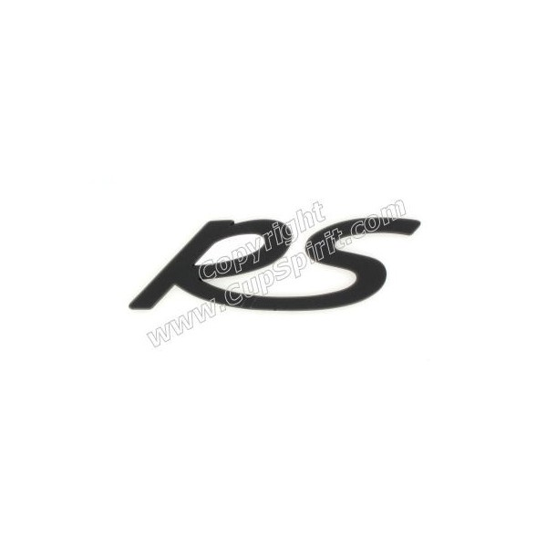 Monogramme RS noir
