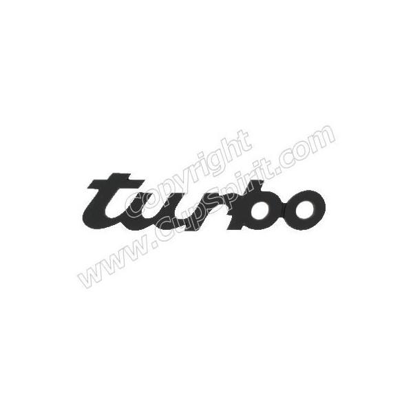Monogramme Turbo noir