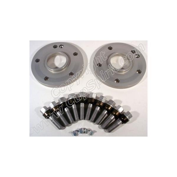 Paire élargisseurs 7mm aluminium