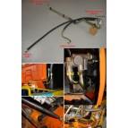 Kit conduites huile radiateur avant