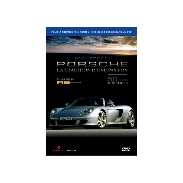 DVD - Porsche, La tradition d'une passion