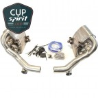 Silencieux Sport inox à valves Porsche 997 phase 2