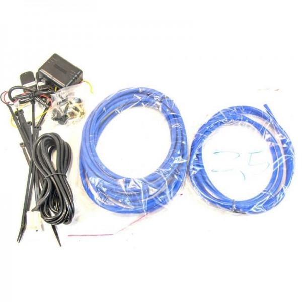 Système de pilotage pour silencieux à valves - version avec télécommande
