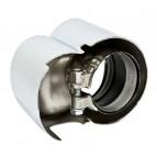 Paire de sorties inox Turbo S Cup Exhaust Premium