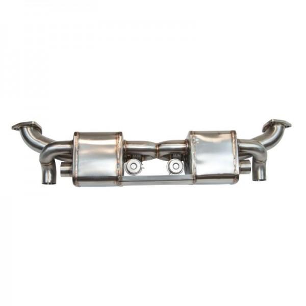Silencieux primaire inox sport à valves Cup Exhaust