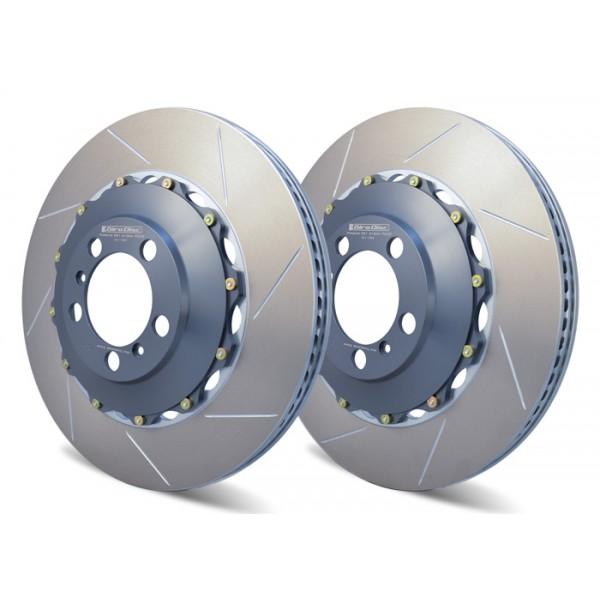 Jeu de disques arrière acier 390mm pour remplacement PCCB
