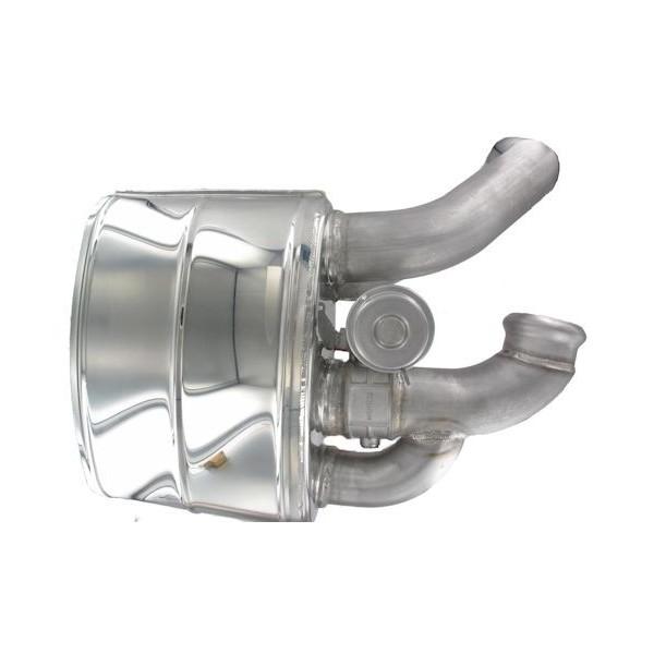 Silencieux inox SCART à valves